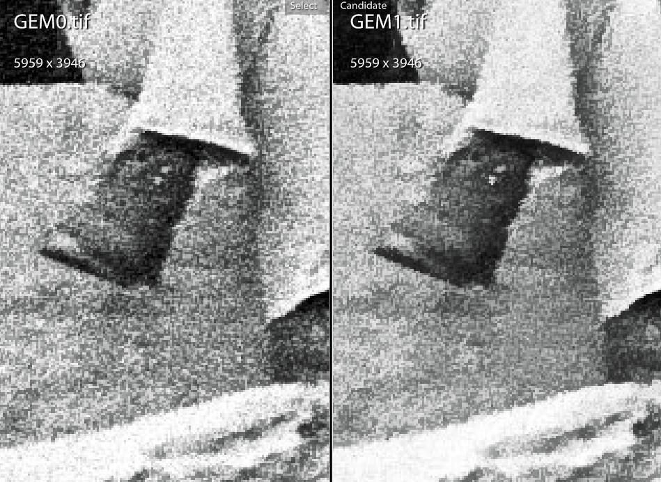 GEM zero versus GEM two