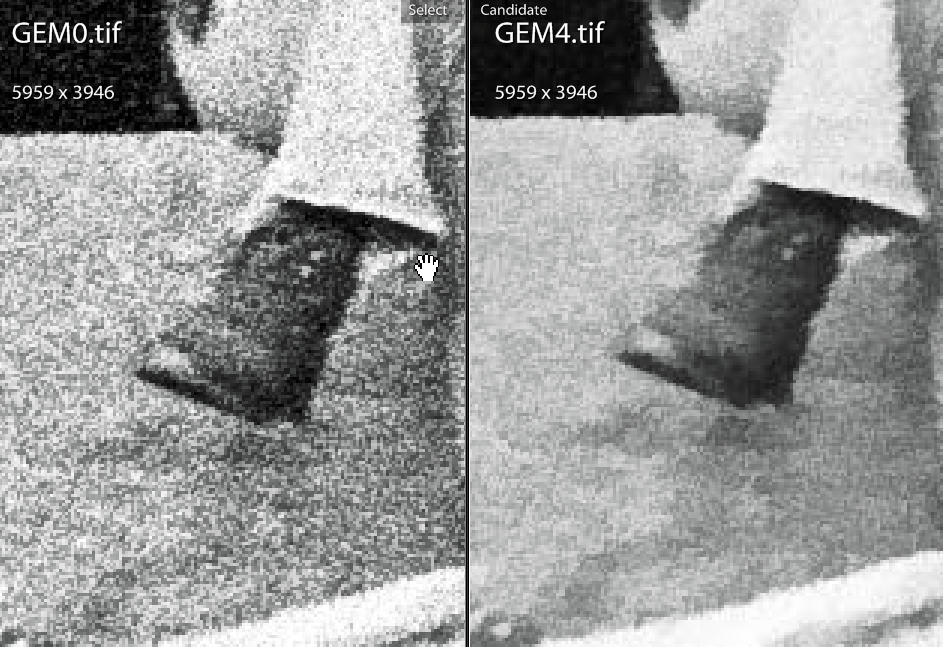GEM zero vs GEM four - boot detail