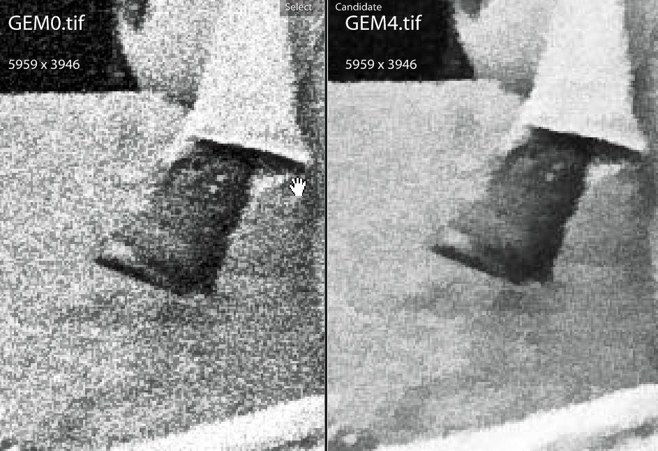 GEM zero vs GEM four - boot detail