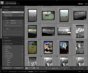 Lightroom with Portable Images Catalog