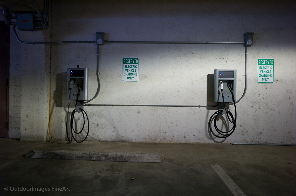 Electric Car Charging - Using Manual White Balance