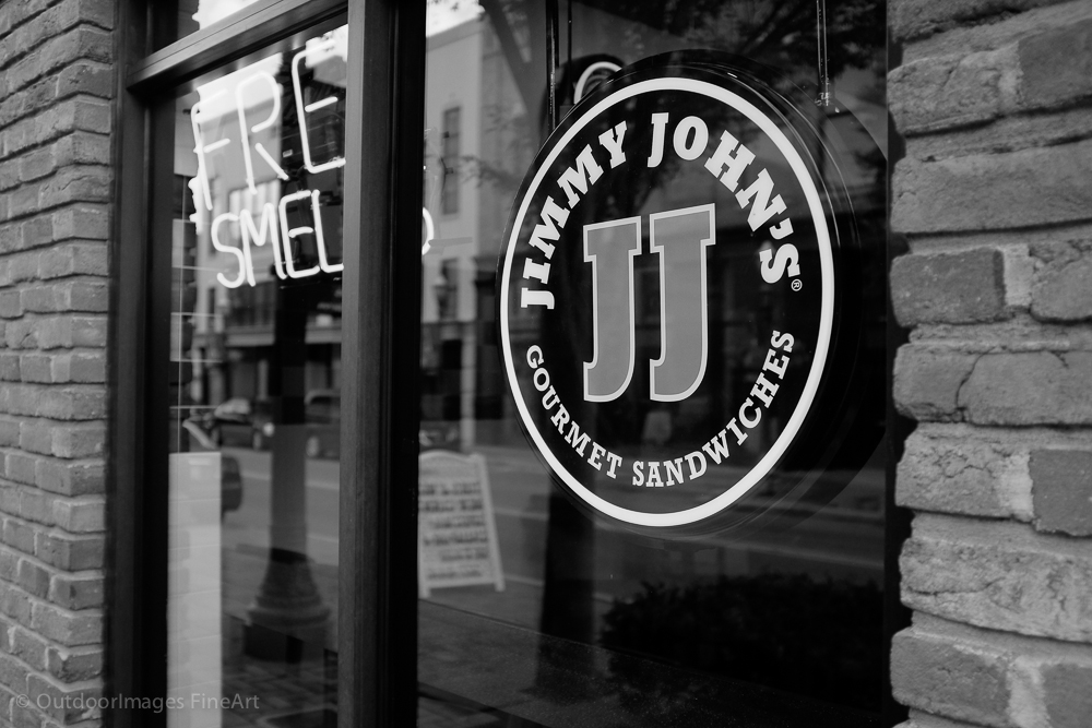 lunch at jimmy john's