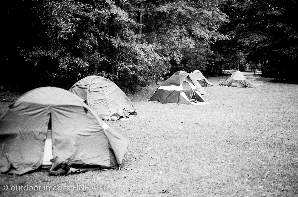 Tents at Camp