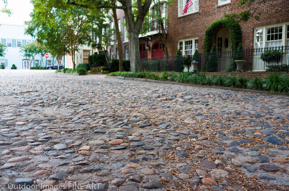 Cobblestone Street - Charleston, SC